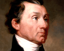 James Monroe, 5º presidente de Estados Unidos.